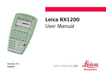 leica rugby 840 user manual