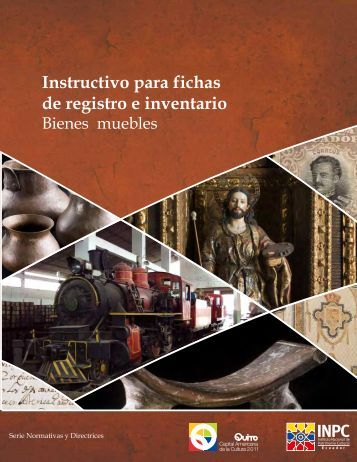 Instructivo para fichas de registro e inventario - Arqueología ...