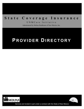 PROVIDER DIRECTORY - UNM Hospitals