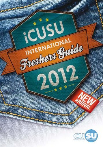 CUSU International Freshers' Guide - Cambridge University ...