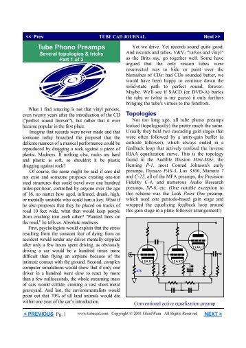 PDF version - Tube CAD Journal
