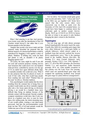PDF version - Tube CAD Journal