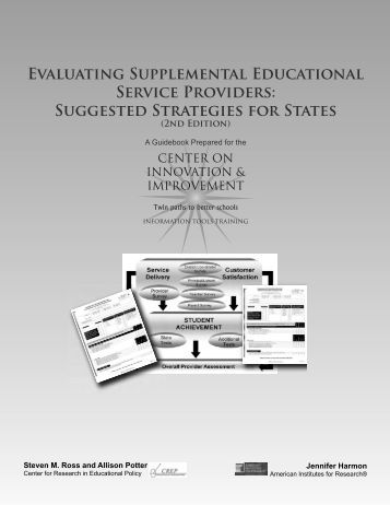 dissertations on supplemental education services T the mission of career services at the university of west dissertations on supplemental education services and student achievement georgia is to provide our.