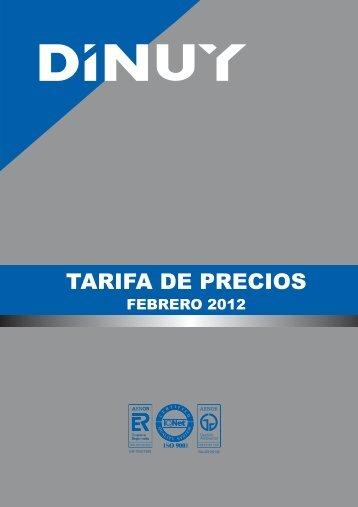 TARIFA DE PRECIOS - Dielectro Industrial