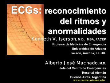 reconocimiento del ritmos y anormalidades - Reeme.arizona.edu