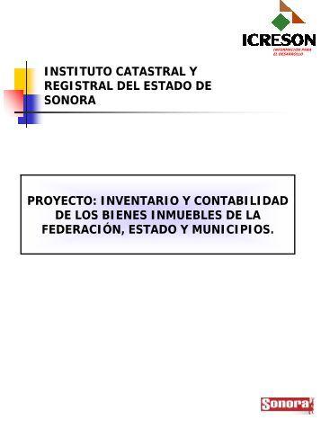 Proyecto Inventario y Contabilidad de los Bienes Inmuebles - Indetec