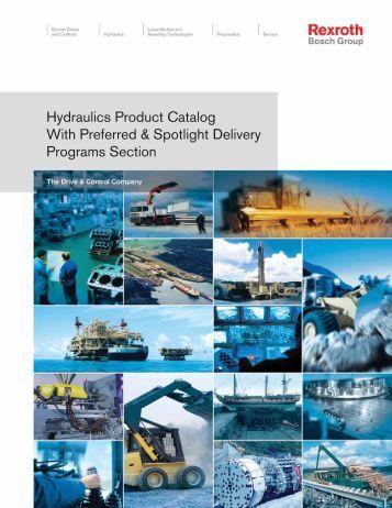 Rexroth Hydraulics Product Catal... - Hasmak.com.tr
