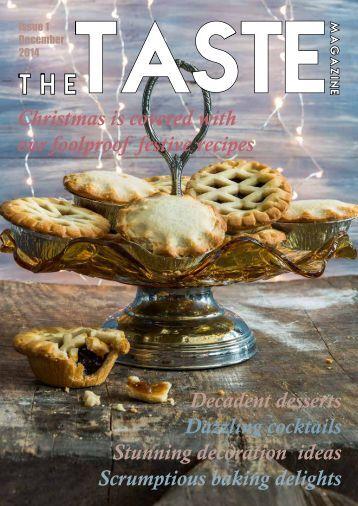 The Taste Magazine - December 2014
