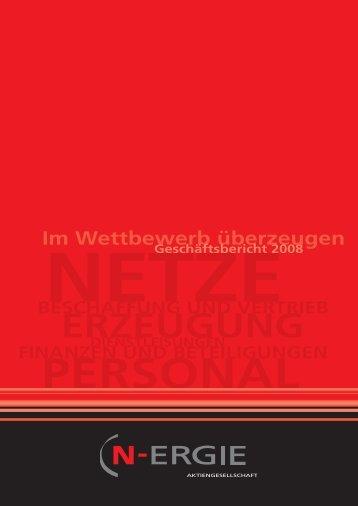 Geschäftsbericht 2008 - N-ERGIE Aktiengesellschaft