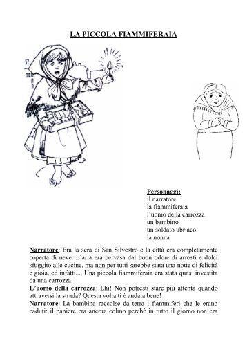 LA PICCOLA FIAMMIFERAIA - Maestra Sabry