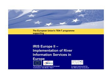 IRIS Europe II – Implementation of River Information Services in ...
