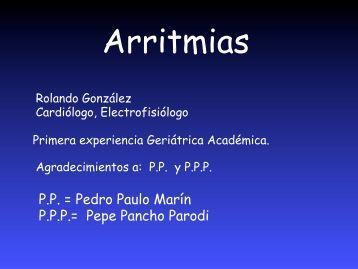Arritmias - Academia Latinoamericana de Medicina del Adulto ...