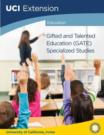Gifted and Talented Education (GATE) Specialized Studies Program