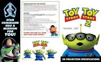 3d projection specifications - Disney Digital Cinema Portal Homepage