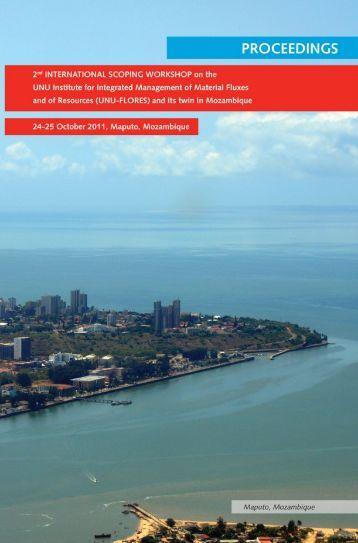 Proceedings of 2nd International Scoping Workshop, Maputo Oct ...
