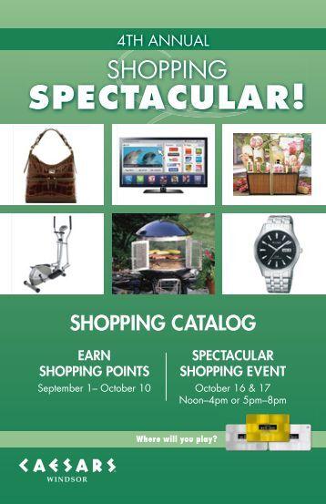 shopping catalog - Caesars Entertainment
