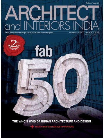 FAB 50 Architects_Kalhan & Santha Mattoo - Planet 3 Studios