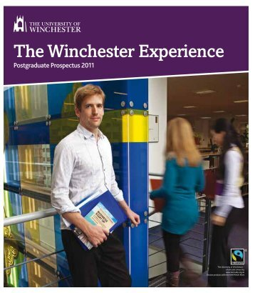 Postgraduate - University of Winchester