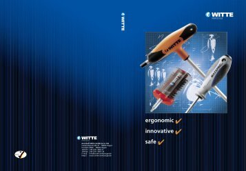 Catalogue Witte Tools - Kirchhoff Group