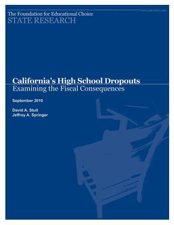 thesis statement on high school dropouts