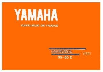 1983 - Peça Yamaha