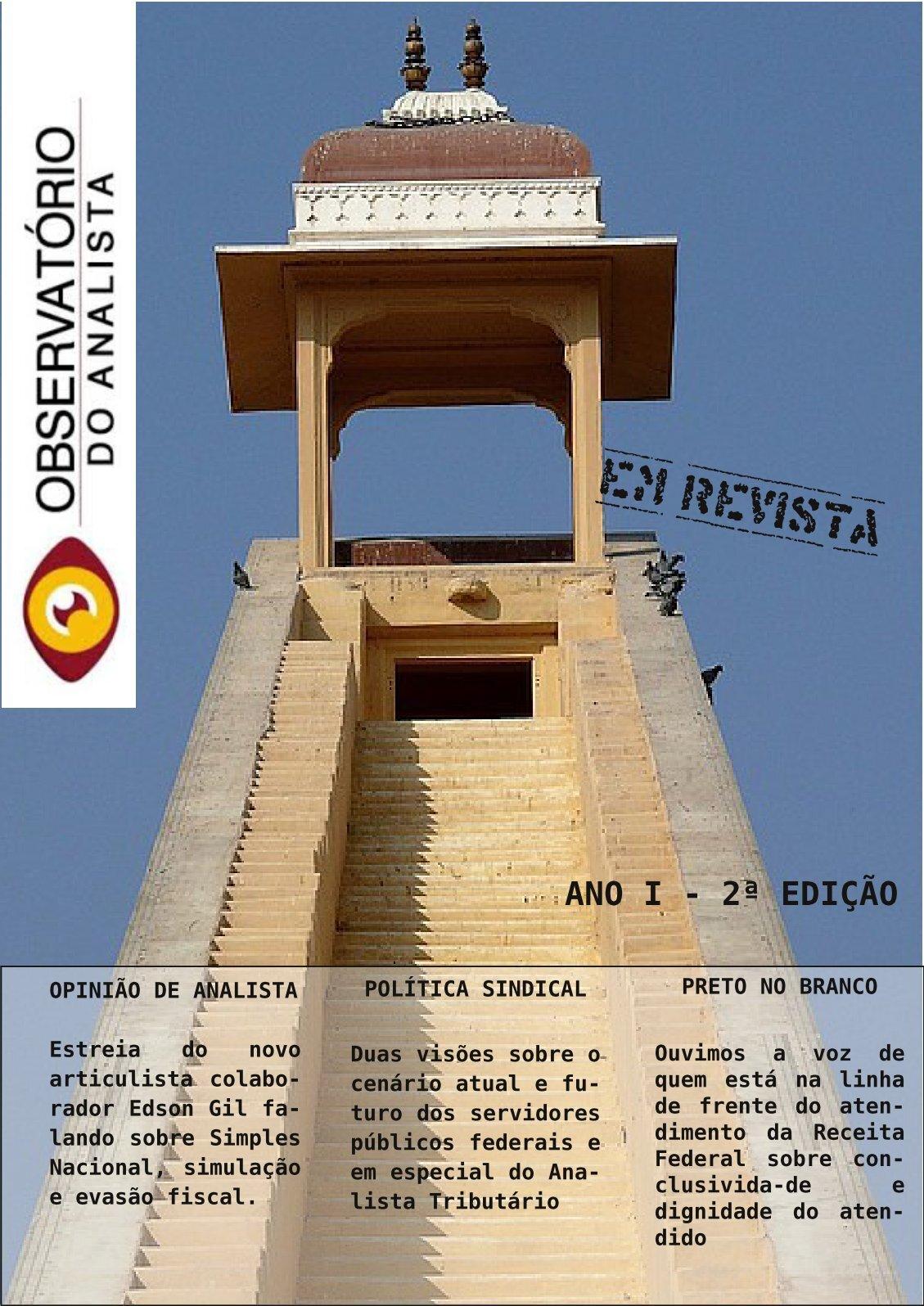 Observatório do Analista em Revista 2ª edição