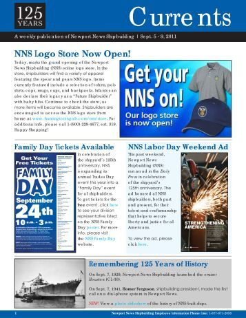 Currents - Newport News Shipbuilding