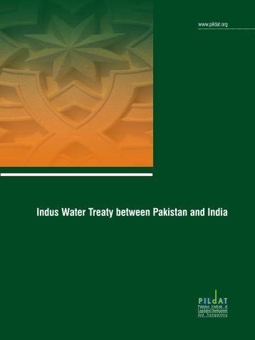 inter provincial water conflict in pakistan
