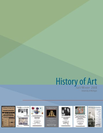 History of Art - Online Study Galleries - University of Michigan