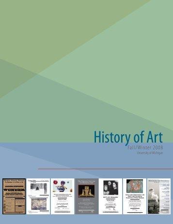 History of Art - Online Study Galleries - University of Michigan