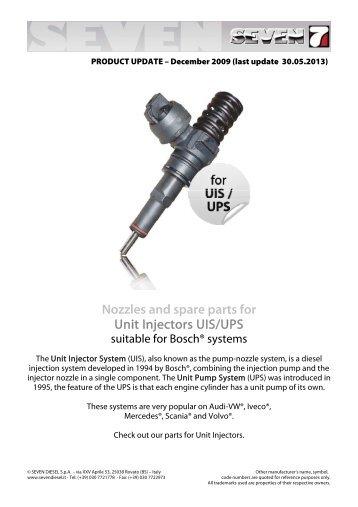 UIS-UPS Injector - SEVEN DIESEL SpA