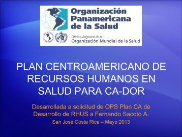 Plan de Desarrollo de Recursos Humanos 2013-2015. Documento ...