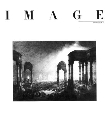 Table of Contents - Issues of Image Magazine - George Eastman ...