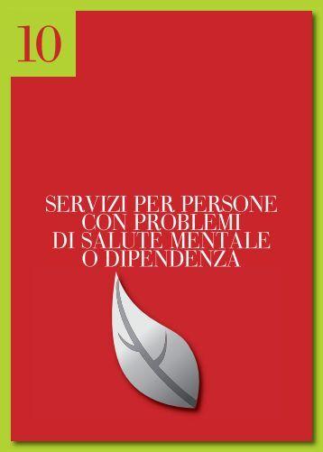 10.Servizi per persone con problemi di salute mentale o dipendenza