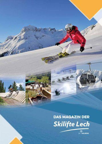 Das Magazin der Skilifte Lech