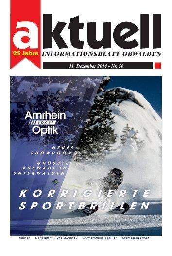 Aktuell Obwalden 50-2014