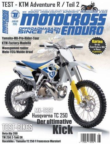 Motocross Enduro 01/2015