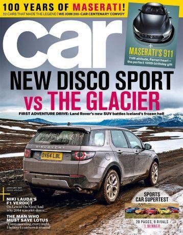 Car Magazine January 2015