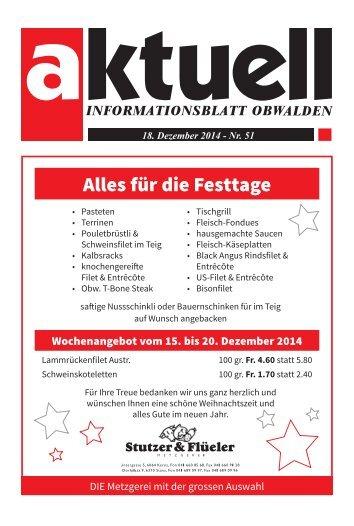 Aktuell Obwalden 51-2014