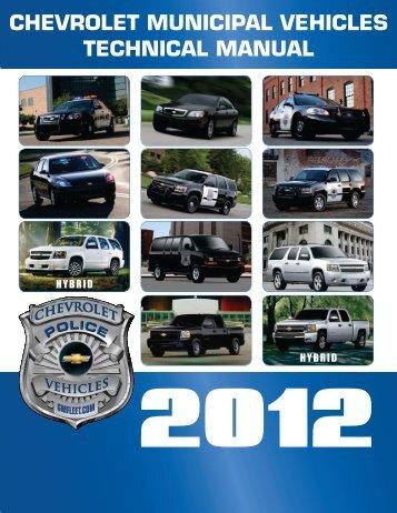 2012 Chevrolet Police Technical Manual (pdf) - GM Fleet