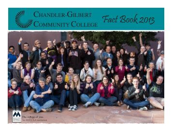 Fact Book 2013 - Chandler-Gilbert Community College - Maricopa ...