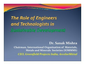 Role of the Engineer