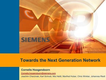 next generation network evolution The next-generation network  on the evolution of internet in terms of the variety  roll-out of china telecom's next generation carrying network,.