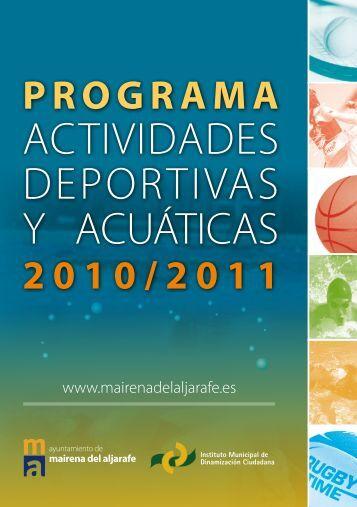 actividades deportivas y acuáticas - Ayuntamiento de Mairena del ...