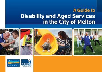 Disability and Aged Services Guide - Melton City Council