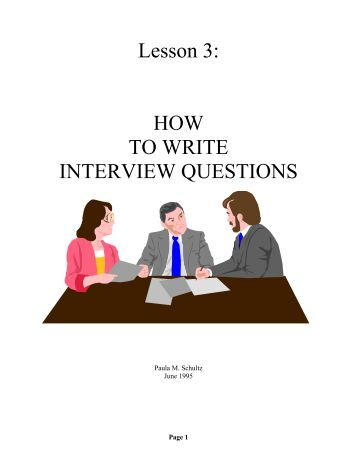 Eight Classic Questions in an Interview - Eden Brown