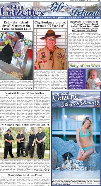 70 Year Pin - The Island Gazette