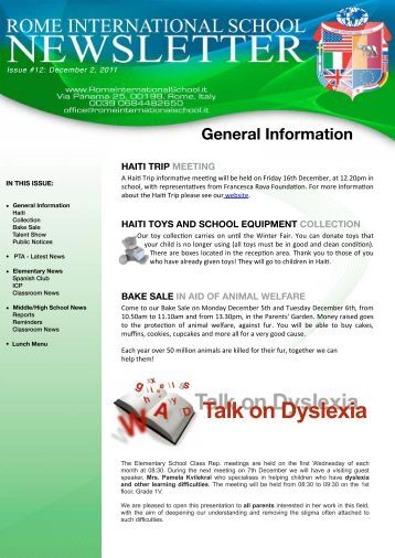 dyslexia general information This dyslexia information section has everything you need to define and evaluate how the condition affects you.