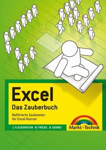 Excel - Das Zauberbuch <inhaltsverzeichnis ... - Pearson Bookshop