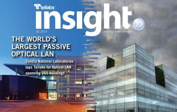 Tellabs Insight Magazine - 2nd Quarter, 2013